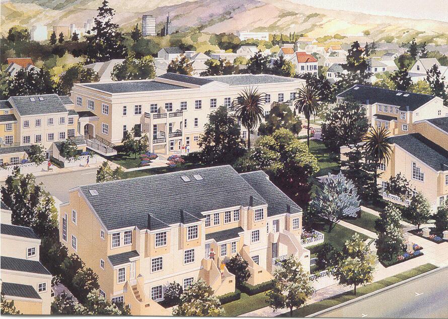 Artistst's Rendering of University Terrace